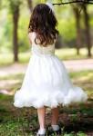robe de cortège enfant dos