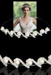 serre tête serti de strass et de perles