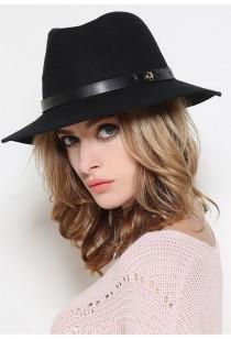 chapeau fédora femme en laine réf 088
