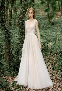Robe de mariée bohème dos nu Réf RM2136