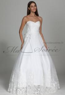 Robe de mariée glamour bustier cœur Réf M1910