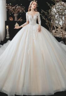 Robe de mariée manches longues Réf. M2122