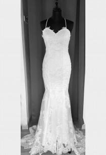 Robe de mariée fourreau col bardot Réf RM2131sd - sur demande