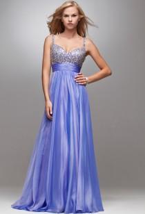 doreen - robe de soirée longue bustier recouvert de strass  4024