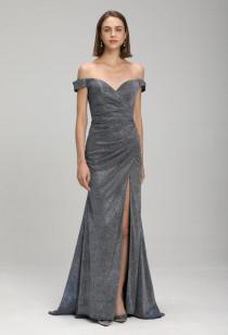 robe de soirée sirène avec fente- Réf 2171- sur demande